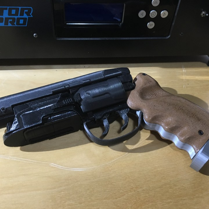 Picture of print of Deckards Blaster - Blade Runner This print has been uploaded by Adrian Esdaile