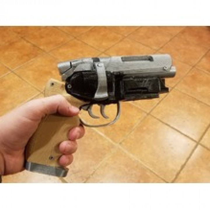 Picture of print of Deckards Blaster - Blade Runner This print has been uploaded by Riley Jackson