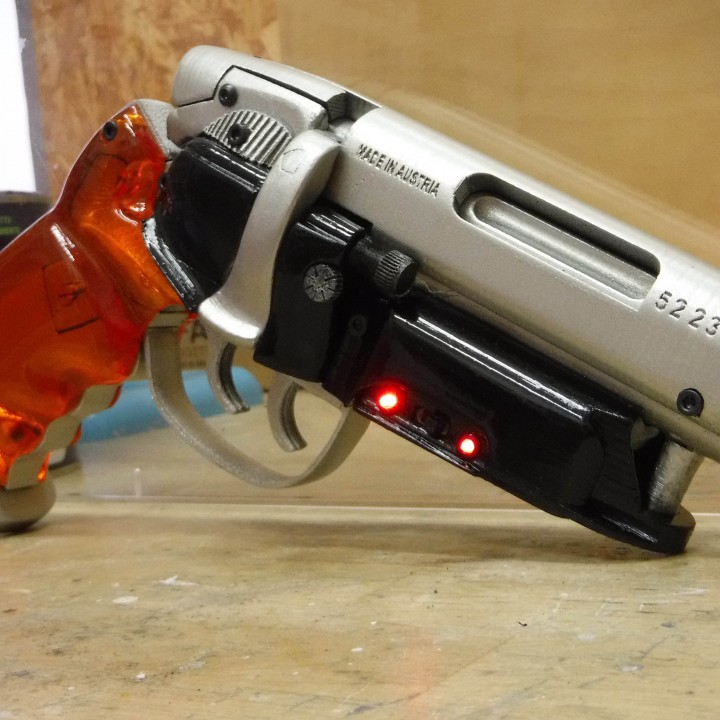 Picture of print of Deckards Blaster - Blade Runner This print has been uploaded by Guido Maurizio