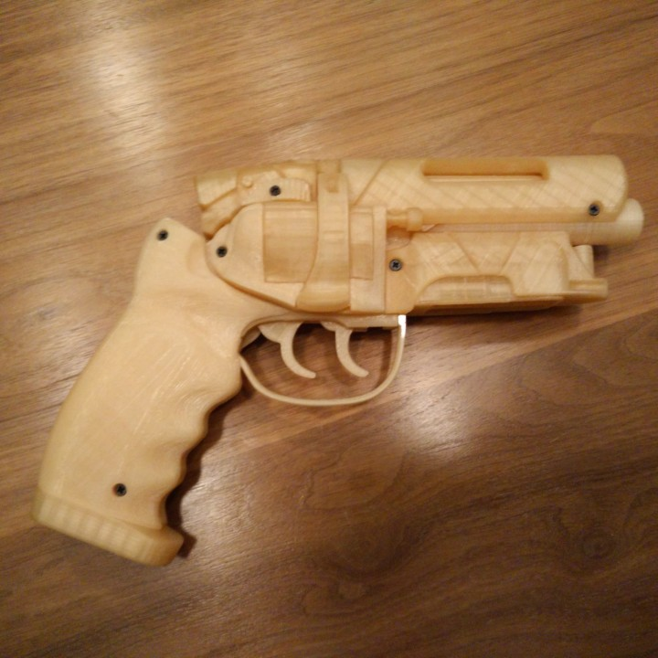 Picture of print of Deckards Blaster - Blade Runner This print has been uploaded by Robert Jamison