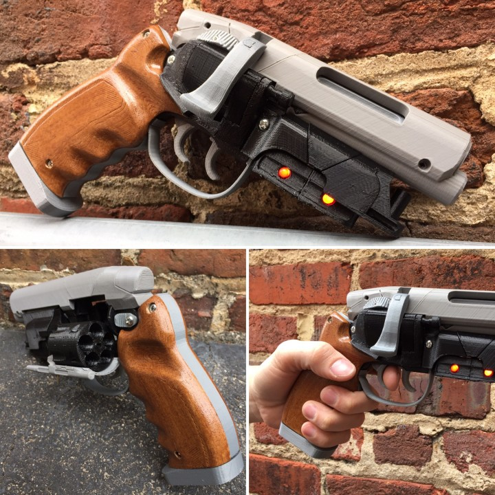 Picture of print of Deckards Blaster - Blade Runner This print has been uploaded by 3D Central