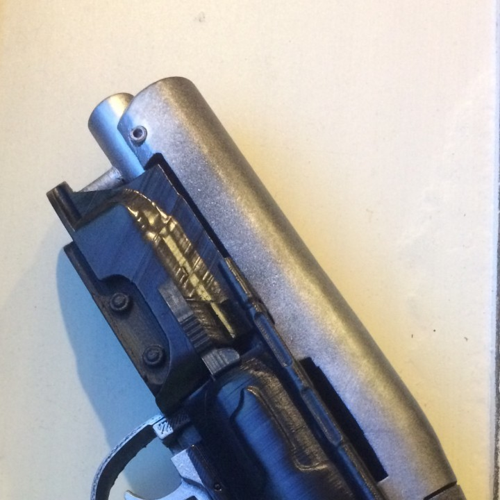 Picture of print of Deckards Blaster - Blade Runner This print has been uploaded by Mike Milner