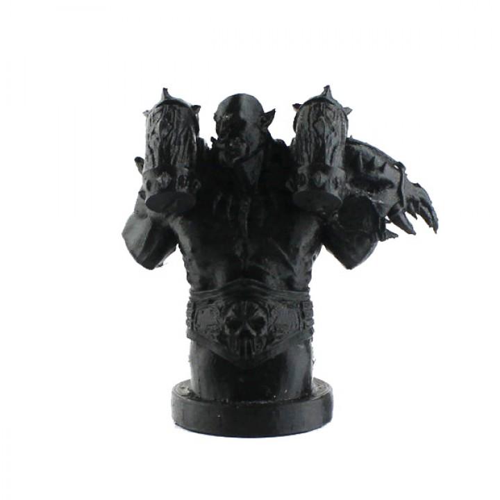Garrosh Hellscream Bust (World of Warcraft)