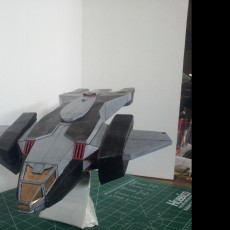 Picture of print of Pelican Dropship from Halo