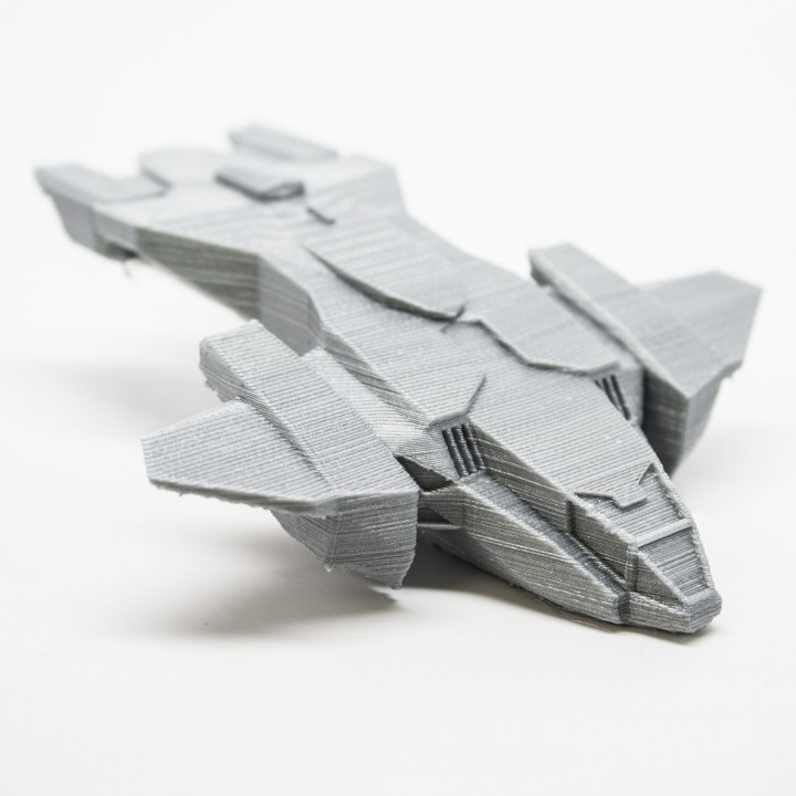 3D Printable Pelican Dropship from Halo by Neal Oh