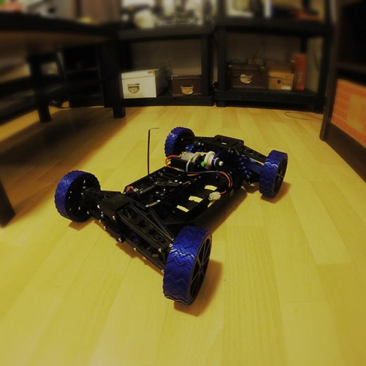 3D Printable 3D printed RC Car by 3DMate