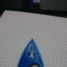 Picture of print of Star Trek Pin