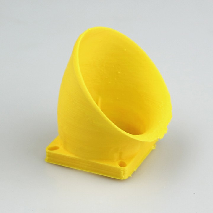 Bell-Mouth Air-Intake for Ormerod2 Printer