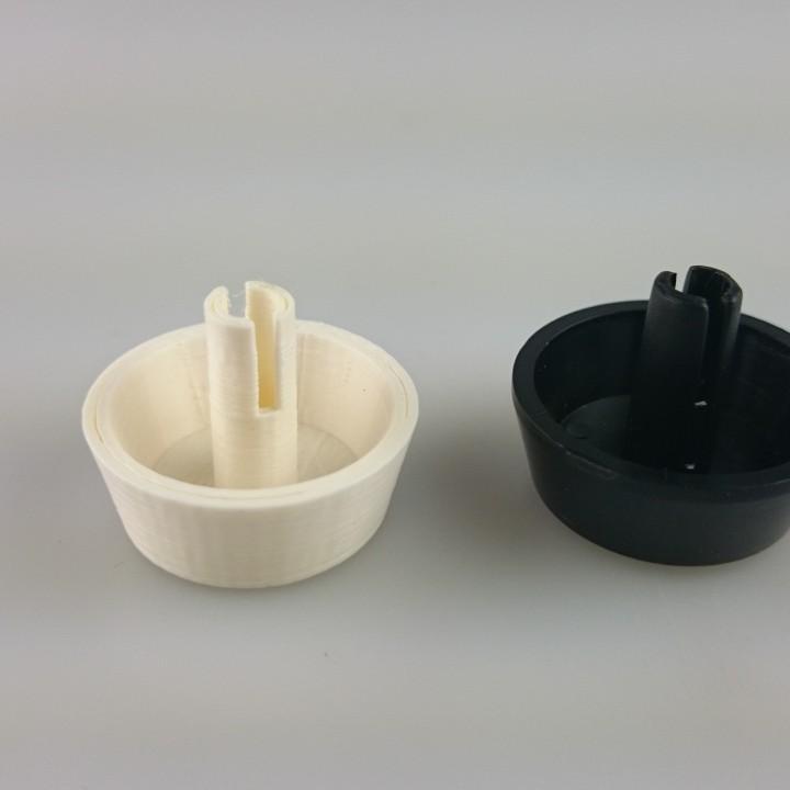 Smeg Black Ignition Button for Smeg Cookers & Hobs