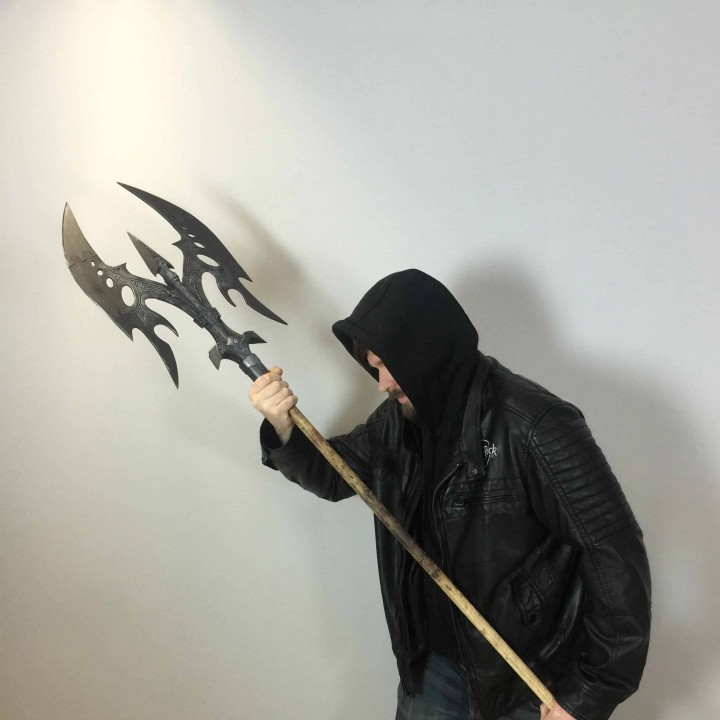 Black Legion Battle Axe - Battle Mop