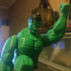 Picture of print of Hulk print-in-place