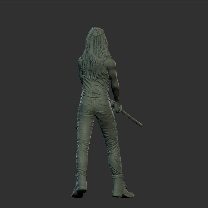 Michonne from The Walking Dead