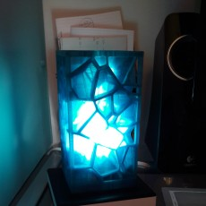 Picture of print of Voronoi lamp  (LQ version!!!)