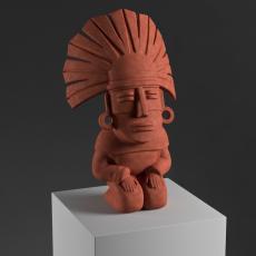 Aztec sculpture  (LQ)