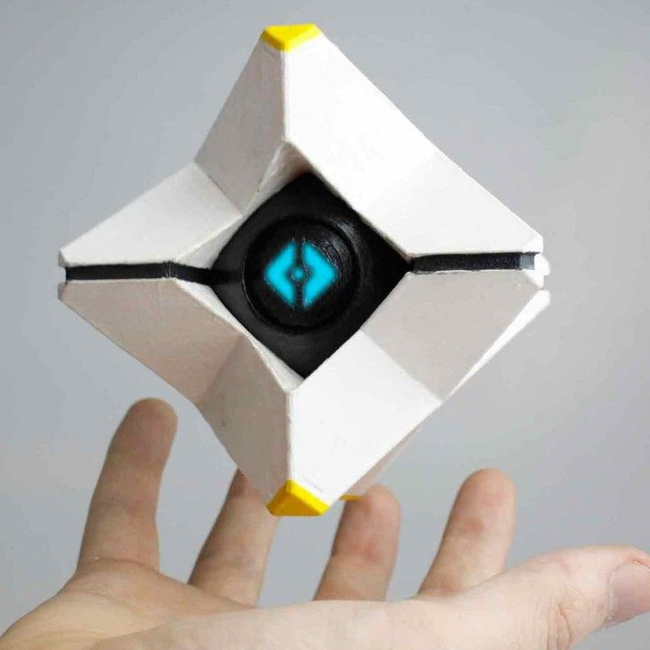 3d Printable Destiny Ghost By Kirby Downey