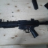 handguard and flashligth for mp5 sd airsoft print image