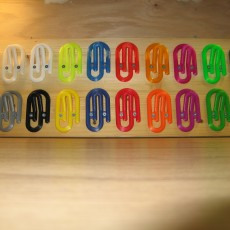 Picture of print of Paper Clip Coat Hook - Novelty