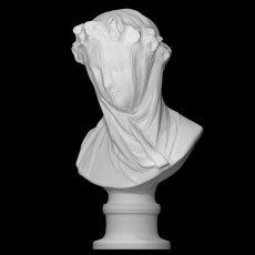 Veiled Lady at the Minneapolis Institute of Arts, USA