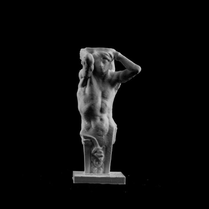 Caryatid at Musée Rodin, Paris, France