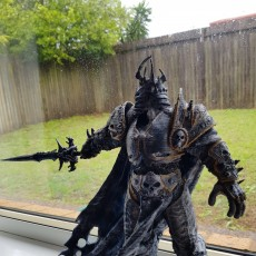 Picture of print of The Lich King