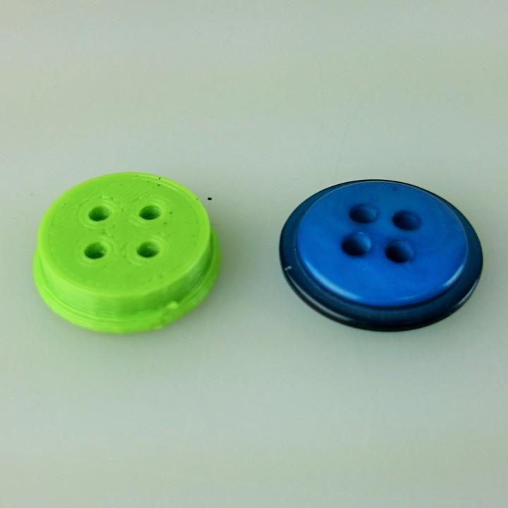 Button for your outfits with extra thickness