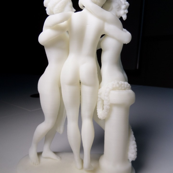 Picture of print of The Three Graces at the Hermitage Museum, Russia This print has been uploaded by Myo-Gul BAE