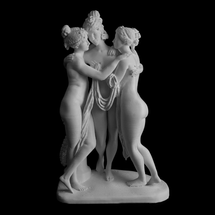Picture of print of The Three Graces at the Hermitage Museum, Russia This print has been uploaded by Scan The World