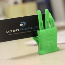 Miniature Robotic Hand for Flexible Filament by Open Bionics