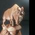Rhinoceros at the Museum d'Orsay, Paris print image