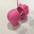 NASTY PIG Money / Tip Box print image