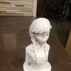Picture of print of Frozen: Anna Bust This print has been uploaded by Doug Fisher