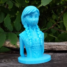 Picture of print of Frozen: Anna Bust This print has been uploaded by Tanya Wiesner