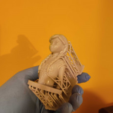 Picture of print of Frozen: Anna Bust