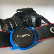 Picture of print of Lens cap holder for 58mm diameter lens