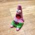 """Surprised Patrick"" spongebob meme character (Little-Meme) print image"