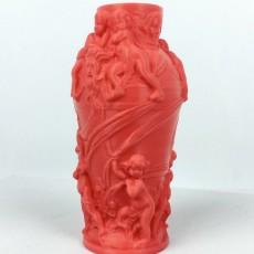 Picture of print of Decorative vase at the Petit Palais, Paris, France