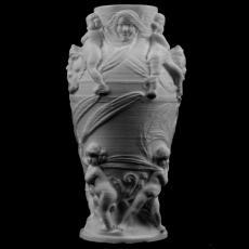Decorative vase at the Petit Palais, Paris, France