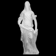 Veiled Woman at The Louvre, Paris