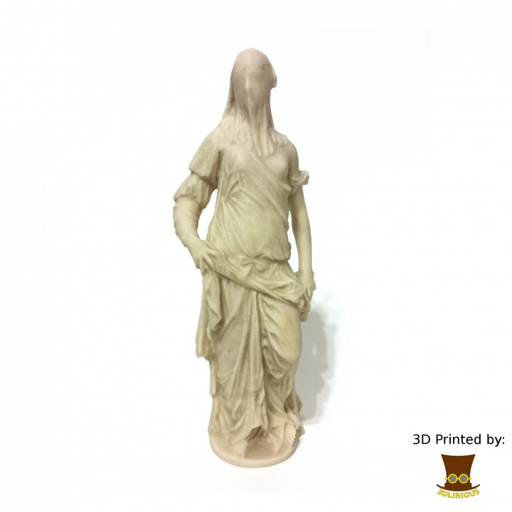 Picture of print of Veiled Woman at The Louvre, Paris This print has been uploaded by 3DLirious