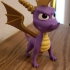 Spyro The Dragon - Retro Game Character print image