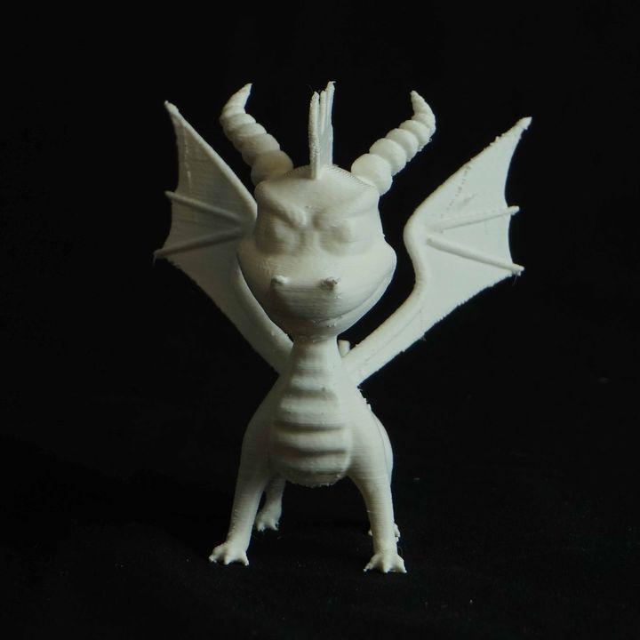 Spyro The Dragon - Retro Game Character