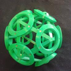 Icosahedron / Dodecahedron ball, 300mm