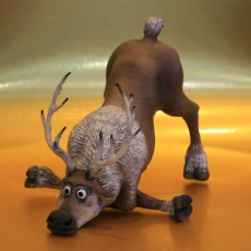 Picture of print of Sven The Reindeer - Disney's Frozen
