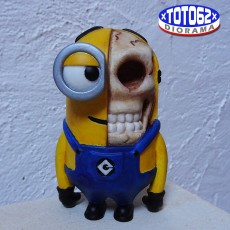 Picture of print of Anatomical Minion