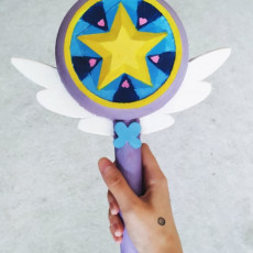 Picture of print of Star's Wand: Star Vs The Forces of Evil
