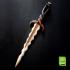 2 Tyene's daggers (Dornish Daggers) - Game Of Thrones print image