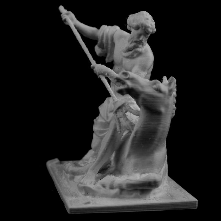 Neptune at The Louvre, Paris