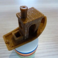 Picture of print of #3DBenchy - The jolly 3D printing torture-test This print has been uploaded by Peter De Corte