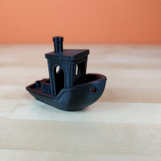 Picture of print of #3DBenchy - The jolly 3D printing torture-test