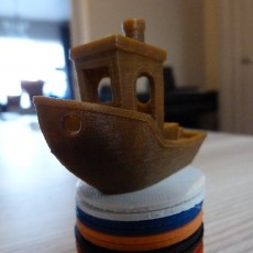 Picture of print of #3DBenchy - The jolly 3D printing torture-test Questa stampa è stata caricata da Peter De Corte